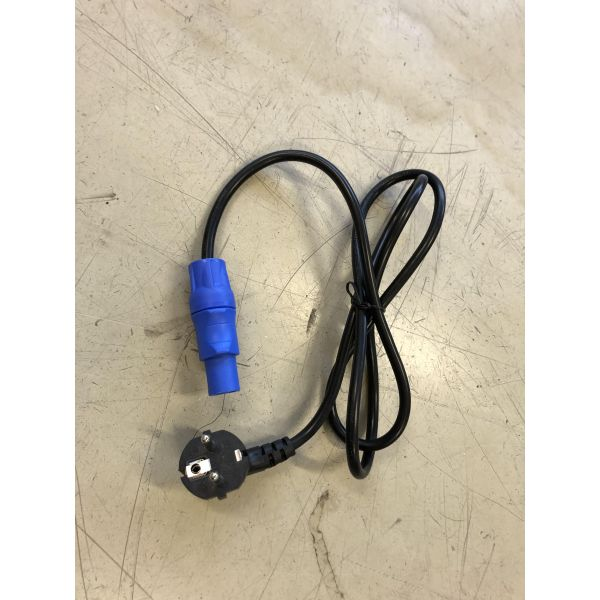 Ny/Demo - Strømadapter Schuko - Powercon