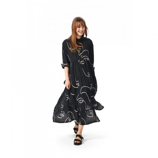 Sketch Viscose Dress