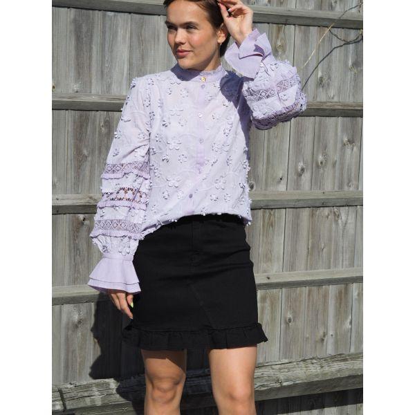 Alexa Skirt, Wash Black
