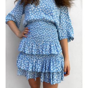 Lura Skirt - Dusk Blue