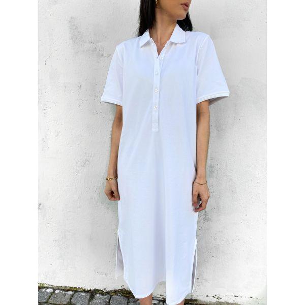 Santo Polo Dress - White