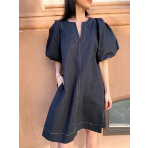 Larkin Short Dress - Black
