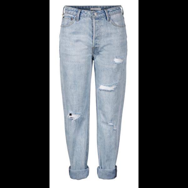 Girlfriend jeans - Light Blue