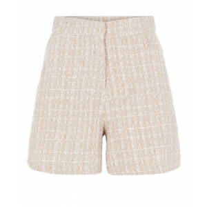 Larkina Boucle Shorts - Blushing Bride