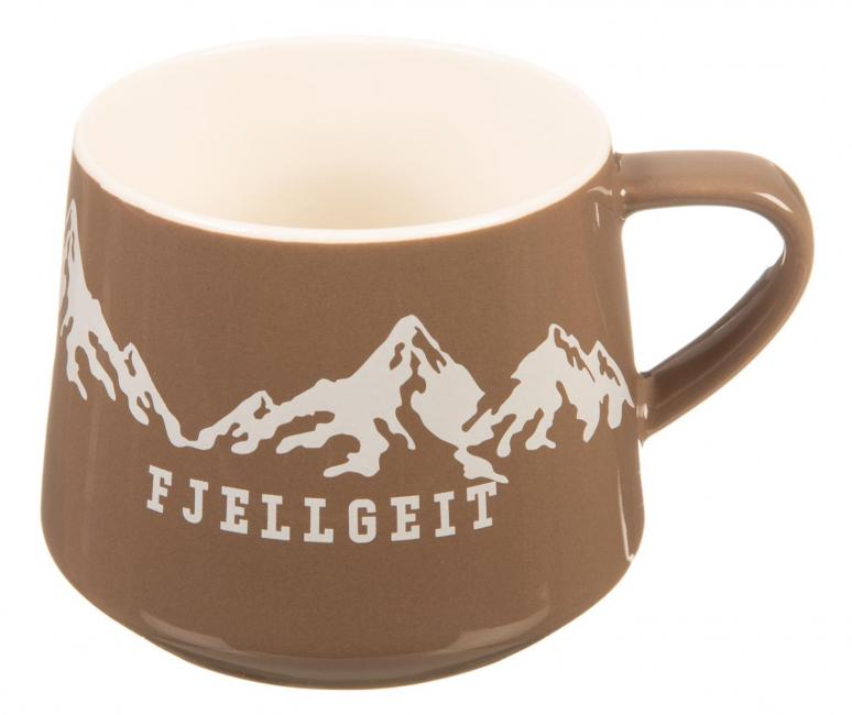 Krus Fjellgeit med fjell...brun