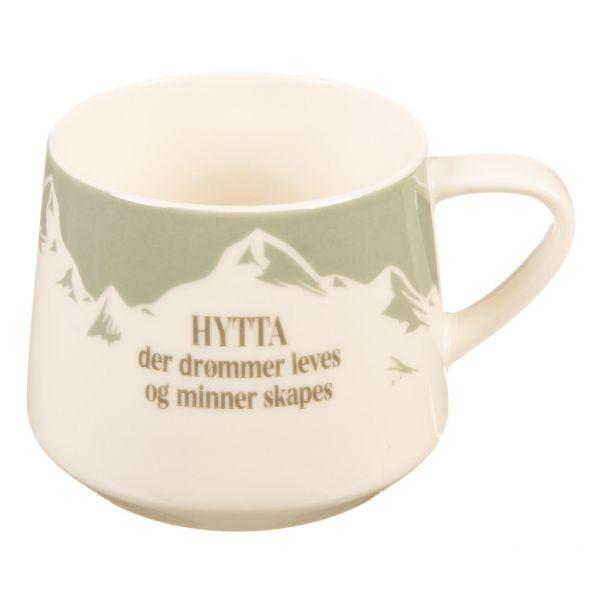 Krus Hytta der drømmer leves og...grønn