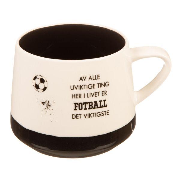 Krus Fotball uviktig... viktigst...sort