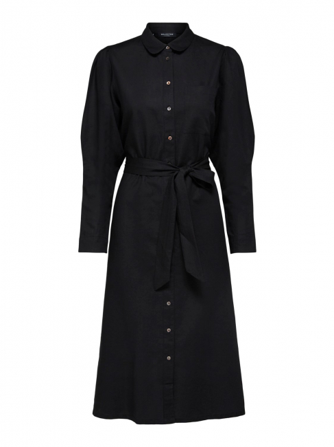 Sybilla-Florenta Linen Dress