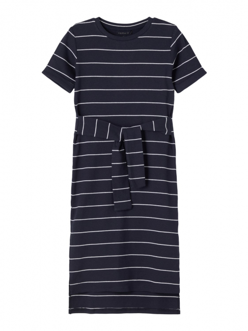 Fadma kortermet lang kjole kids ribb