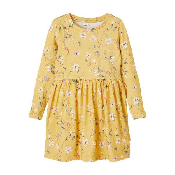 Fiola langermet kjole modal mini