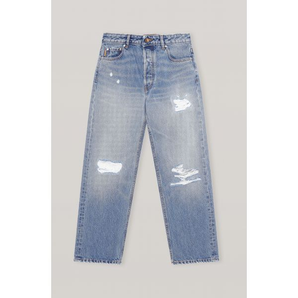 LOW-WAIST RELAXED FIT JEANS
