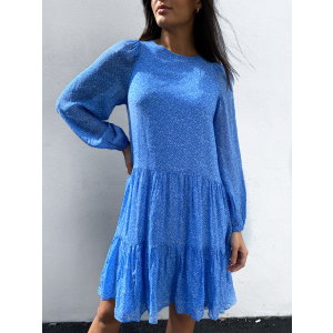 Mano Dress - Blue Bonnet