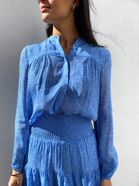 Mano Shirt - Blue Bonnet
