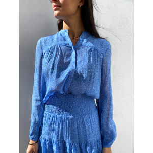 Mano Shirt - Blue Bonnet