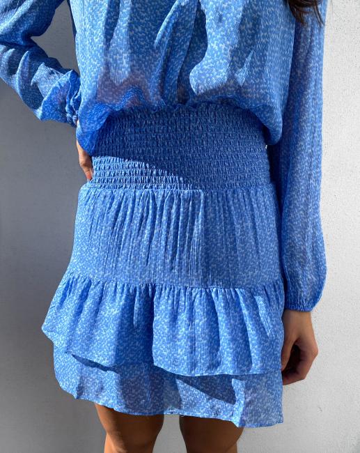 Mano Skirt - Blue Bonnet