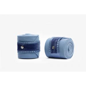 PS Bandasjer Ruffle Light blue 4pk