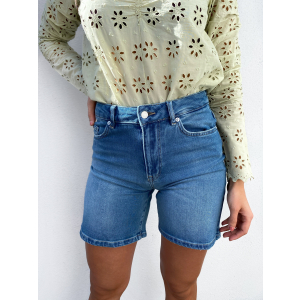Silla Medium Blue Denim Shorts