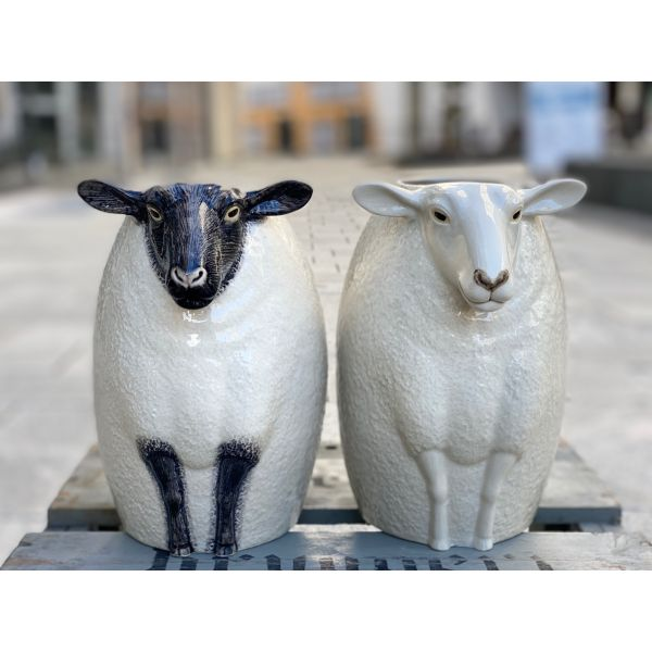 "Sau - vase fra Quail (Sheep ""suffolk"")"
