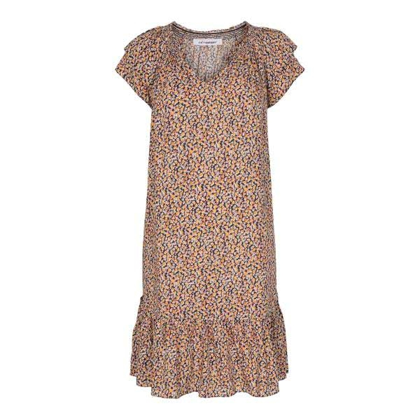 Sunrise Crop Wild Flower Dress