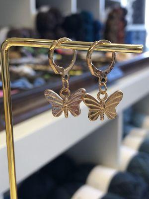Hengeøredobber - sommerfugl gull