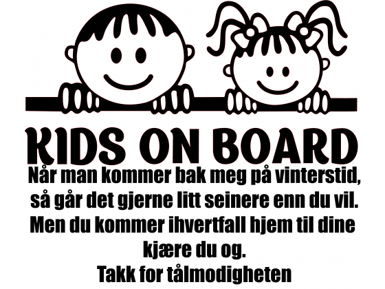 Baby on board 2 - Med undertekst
