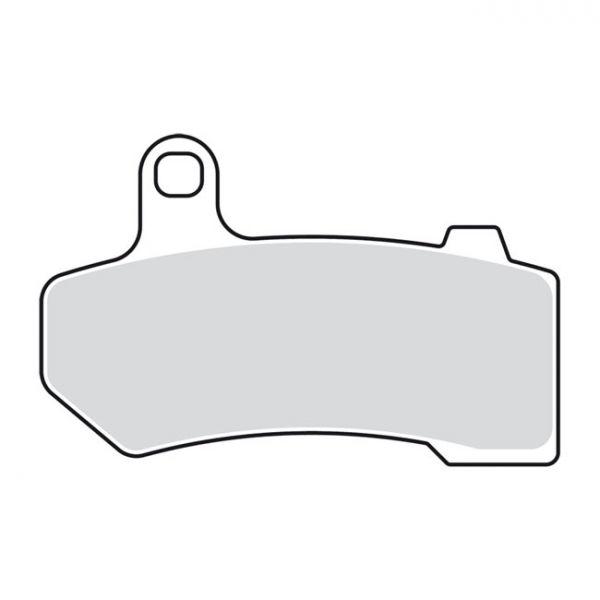 EBC V-PAD SEMI SINTERED BRAKE PADS 08-20 Touring; 09-13 & 19-20 Trikes; 06-17(NU)V-Rod