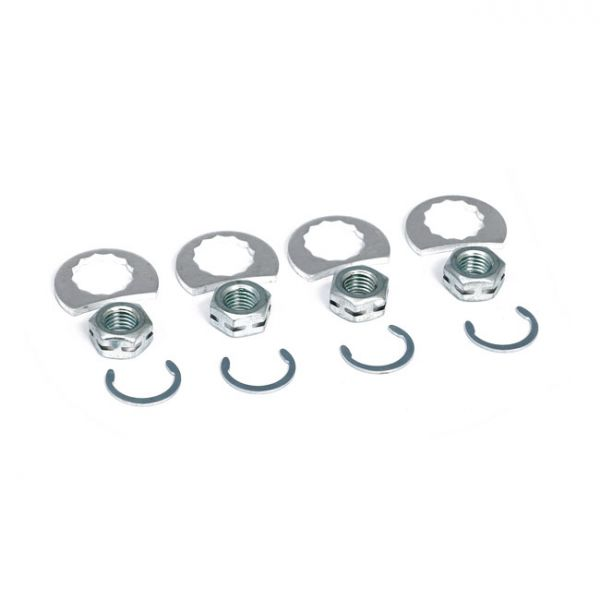 STAGE 8 EXHAUST NUT MOUNT KIT CHROME
