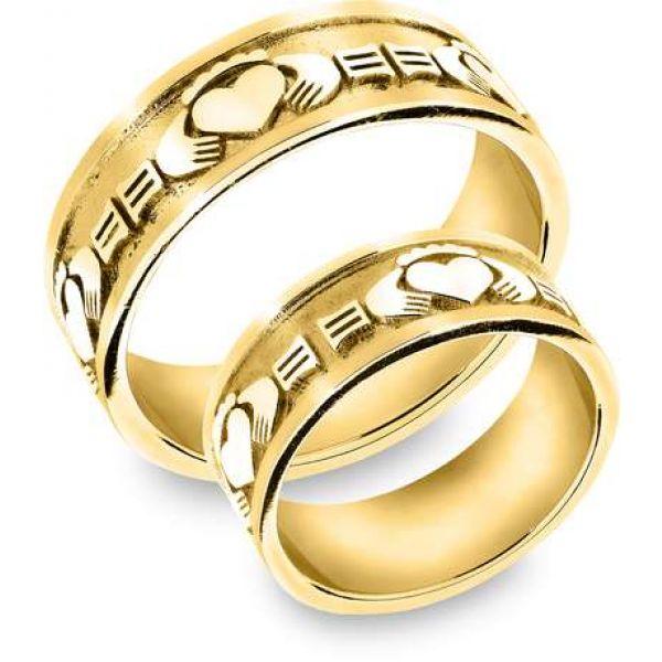 Snorre ring (gull) - Kjærlighet, vennskap og troskap (bred)