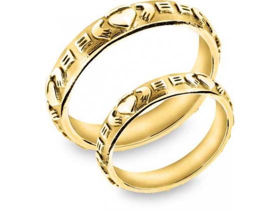 Snorre ring (gull) - Kjærlighet, vennskap og troskap (tynn)