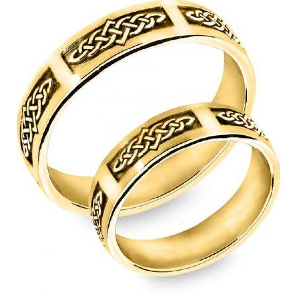 Snorre ring (gull) - Keltiske knuter, evighet
