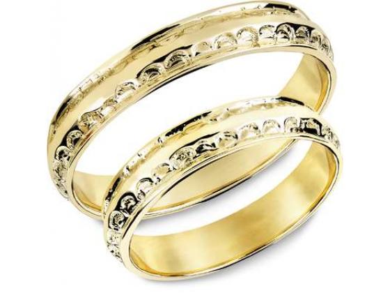 Snorre ring (gull) - Stempelmønster fra norrøn