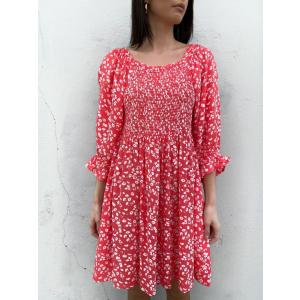 Bella Dress Strawberry
