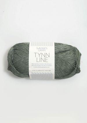 Tynn Line 8561 Grønn - Sandnes Garn