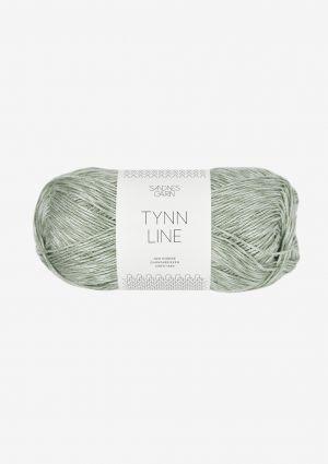 Tynn Line 8521 Støvet Lys Grønn - Sandnes Garn
