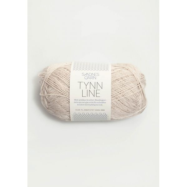 Tynn Line 1015 Kitt - Sandnes Garn