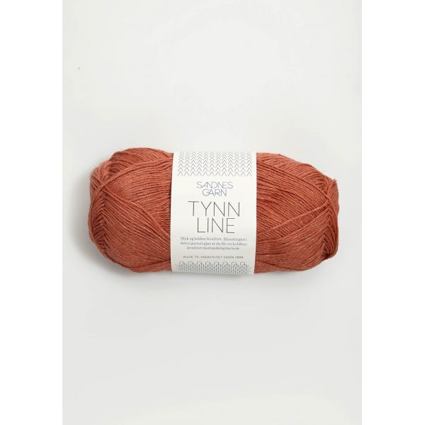 Tynn Line 4234 Terrakotta - Sandnes Garn