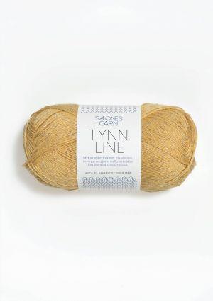 Tynn Line 2113 Lys gul - Sandnes Garn