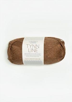 Tynn Line 2553 Gyllen brun - Sandnes Garn