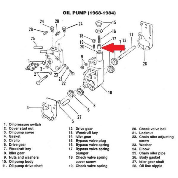 COLONY PLUG, OIL PUMP RELIEF VALVE