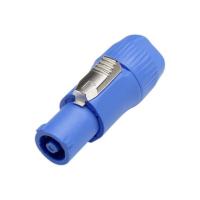 Powercon blå plugg