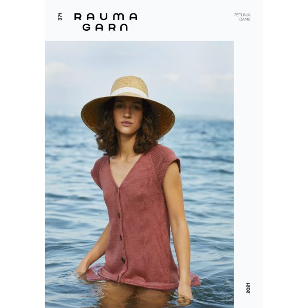 Hefte Rauma Garn - 371 Petunia Dame