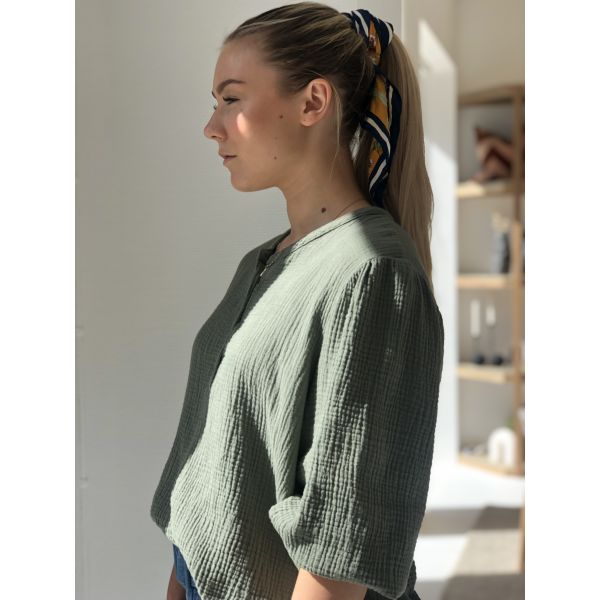 Luna  blouse Dobbel COTTON