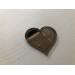 Navneskilt speil - Hjerte med navn