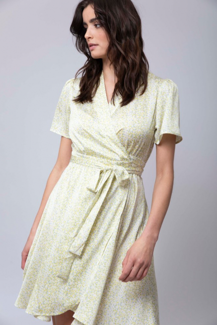 Eva Wrap Dress