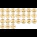 Milepæl briketter / Milestone markers