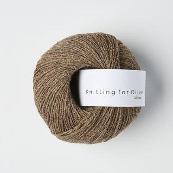 Hasselnød - Merino - Knitting for Olive