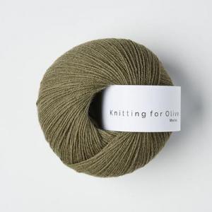 Støvet Oliven - Merino - Knitting for Olive