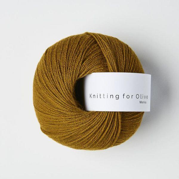 Mørk Okker - Merino - Knitting for Olive