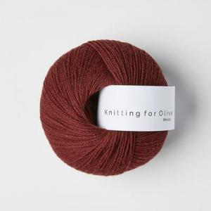 Vinrød - Merino - Knitting for Olive