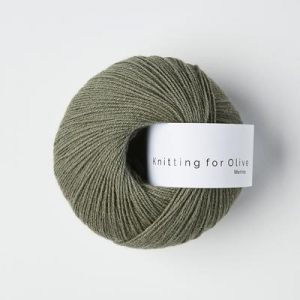 Støvet Søgrøn - Merino - Knitting for Olive